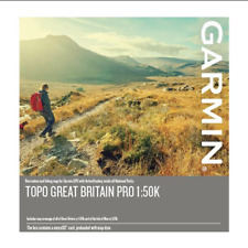 Garmin Topo Gran Bretaña Pro 1:50k microSD/SD tarjeta Mapeo Gps - 010-12772-00