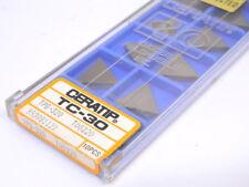 NEW SURPLUS 10PCS. CERATIP  TPG 320  GRADE: TC30  CERMET INSERTS