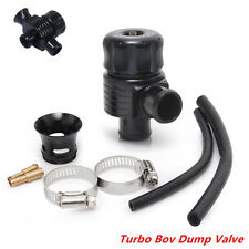 Universal Aluminum Dual Port Blow Off Turbo Bov Dump Valve 25mm Universal Black