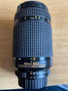 Nikon ED AF Nikkor 70-300mm 1:4 - 5.6 D Lens