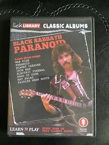 Lick Library Classic Albums Paranoid
