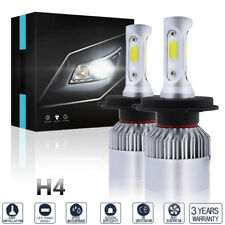 1400W 210000LM 3 Side LED Headlight Kit H4 HB2 9003 Hi/lo Beam Bulb 6K HID White