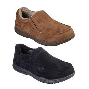 Skechers Mens Lightweight Expected X-Larmen Slipper Slip On Loafer Shoes