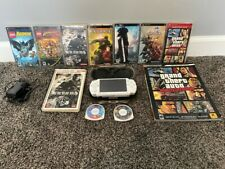 Sony PSP 2001 White Star Wars Limited Edition Darth Vader System 9 Games READ