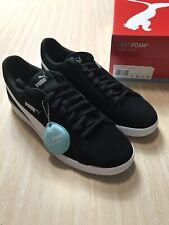 Genuine Puma Smash v2 Mens Shoes US11 Black Wht Brand New w/box - Aussie Seller