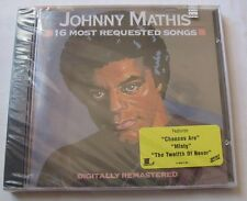 JOHNNY MATHIS (CD) 16 MOST REQUESTED SONGS    NEUF SCELLE