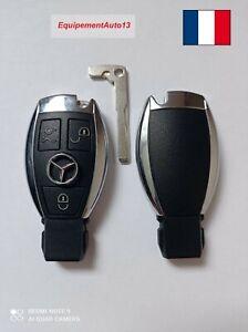 Cle électronique avec télécommande Merdeces-Benz vierge compatible de 2001-2015