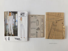 Vogue® Paris Original State of Claude Montana ~Jacket Pants sz 14-18~ 1933 Uncut