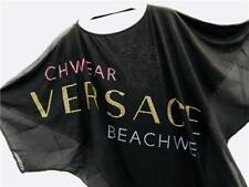 Versace Cystal Medusa Top Coverup UK8-16 RRP495GBP New Shirt Dress