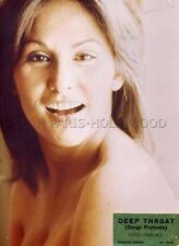 SEXY LINDA LOVELACE  DEEP THROAT GORGE PROFONDE 1972 VINTAGE PHOTO ORIGINAL