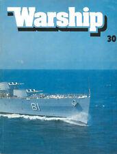 """CONWAY WARSHIP NO.30 USN ASW SSK SUBMARINES / WW2 JAPANESE """"KAIBOKAN"""" ESCORTS"""