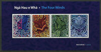 New Zealand NZ Cultures Stamps 2020 MNH Matariki Four Winds Nga Hau e Wha 4v M/S