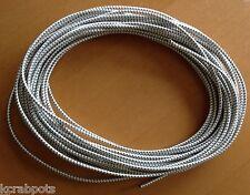 "USA 1/8"" x 25' Bungee Cord Shock Cord Bungie Cord Marine Grade Stretch Cord WHT"