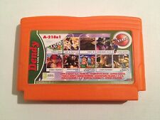 Collection of games Cartridge for Famicom, Nes Dendy, Subor, Famiclone 218 in 1