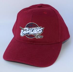 CLEVELAND CAVALIERS Baseball Cap Hat NBA ELEVATION One Size Strapback Red NWT