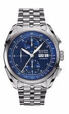 Bulova Accu Swiss Men's 63C121 Tellaro Chronograph Automatic 42mm Sport Watch