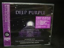 DEEP PURPLE In Concert With The London Symphony Orchestra JAPAN 2CD Rainbow Dio