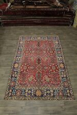 Allover Rare Size Antique Handmade Tabriz Persian Area Rug Oriental Carpet 6X10