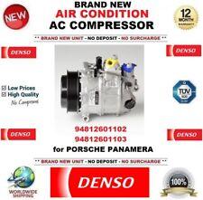 DENSO COMPRESSORE AD ARIA CONDIZIONATA AC 94812601102 94812601103 Porsche Panamera