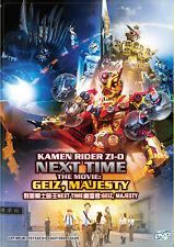 Kamen Rider Zi-O Next Time The Movie Geiz, Majesty DVD (English Subtitle)