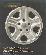 "Wheel Skins:6990P-C  16"" Jeep Wrangler 2007-2016 Set of 4"