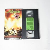 Poison VHS Glam Rock Hair Band Sight For Sore Ears Video