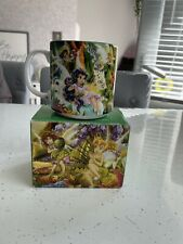 More details for walt disney peter pan classic collection mug boxed 2008 tinkerbell & fairies new