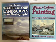 2 WATERCOLOUR PAINTING BOOKS