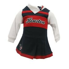 Houston Texans Official NFL Baby Infant Girls Size 2-Piece Cheerleader Outfit