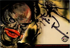2007 Classic Sci-Fi and Horror Posters Series 1 Autographs #Rbac Ricou Browning
