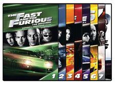 Fast & Furious Set #1-8 (DVD)