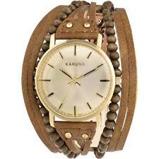 KHNP KLS0314L Kahuna Reloj de Damas Marrón Con cuentas Multi Tanga