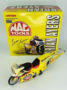 Brain Ayers Mac Tools 2000 NHRA Pro Stock Motorcycle 1 of 5004 Action 1:9 Scale