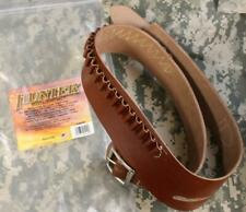 "Hunter 0155RL Buscadero Belt Right Hand 25 Loops .44 or.45 Cal Waist 40""-46"" NEW"