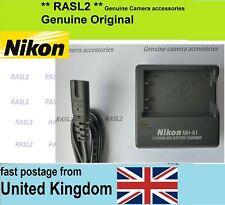 Genuine NIKON MH-61 Charger,EN-EL5 CoolPix P520 P510 P500 P6000 P5100 P5000 P90