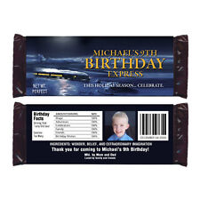 12 The Polar Express Movie Birthday Party Favors Personalized Candy Wrappers