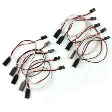 10PCS 300mm 30CM RC Servo Receiver Extension Wire Cable Cord Lead for Helicopter