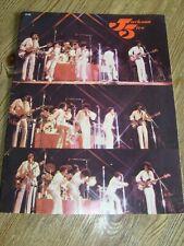 Jackson Five Concert Tour Program 1972 Michael Jackson  Jackson 5