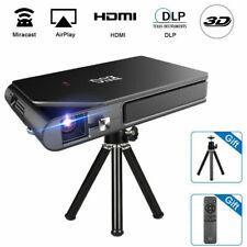 3600lms Heimkino 3D Beamer Pico DLP Projektor Wireless Multi-Screen für Phone DE
