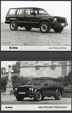 PRESS - FOTO/PHOTO/PICTURE - Jeep Cherokee Set of 2 Photos