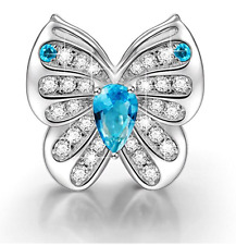 """NinaQueen """"Butterfly Fairy"""" 925 Sterling Silver Butterfly Charms"""