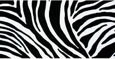 Klebefolie Zebra Muster schwarz weiß 45x200 cm selbstklebende Möbelfolie Dekor