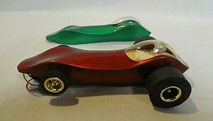 """LOOK! 1960`S CLASSIC INDUSTRIES """"VIPER"""" 1/24 SLOT CAR HAS GOLD PLATED WHEELS +++"""