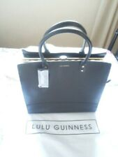 Lulu Guinness Designer Large Sq Daphne handbag barely used, with tags.