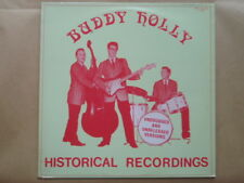 "VINYLE 33 TOURS BUDDY HOLLY ROCKABILLY "" HISTORICAL RECORDINGS """