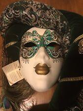 Venetian Magie di Carnevale Handcrafted Papier Mache Carnival Mask from Venice