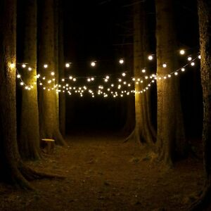 Outdoor Connectable Festoon LED Party String Lights Wedding, Garden, Globe IP44