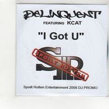 (FS131) Delinquent ft Kcat, I Got U - 2008 DJ CD