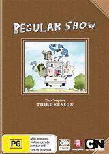 Regular Show : Season 3 (DVD, 2014, 3-Disc Set)