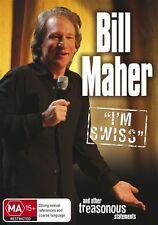 Bill Maher - I'm Swiss (DVD, 2010) Brand New  Region 4